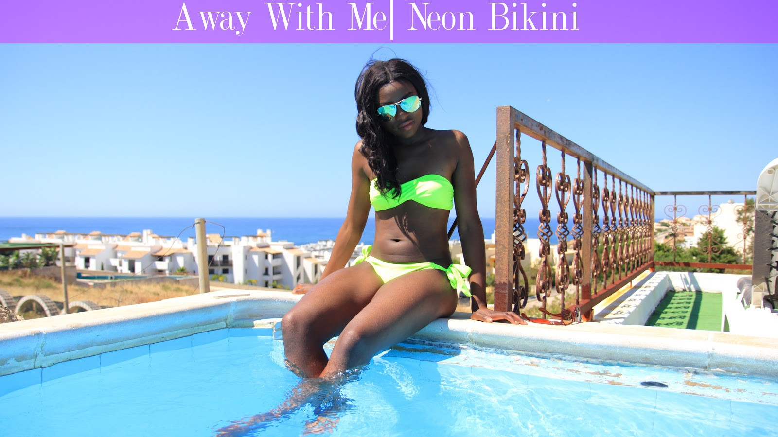 Away With Me| Neon Bikini