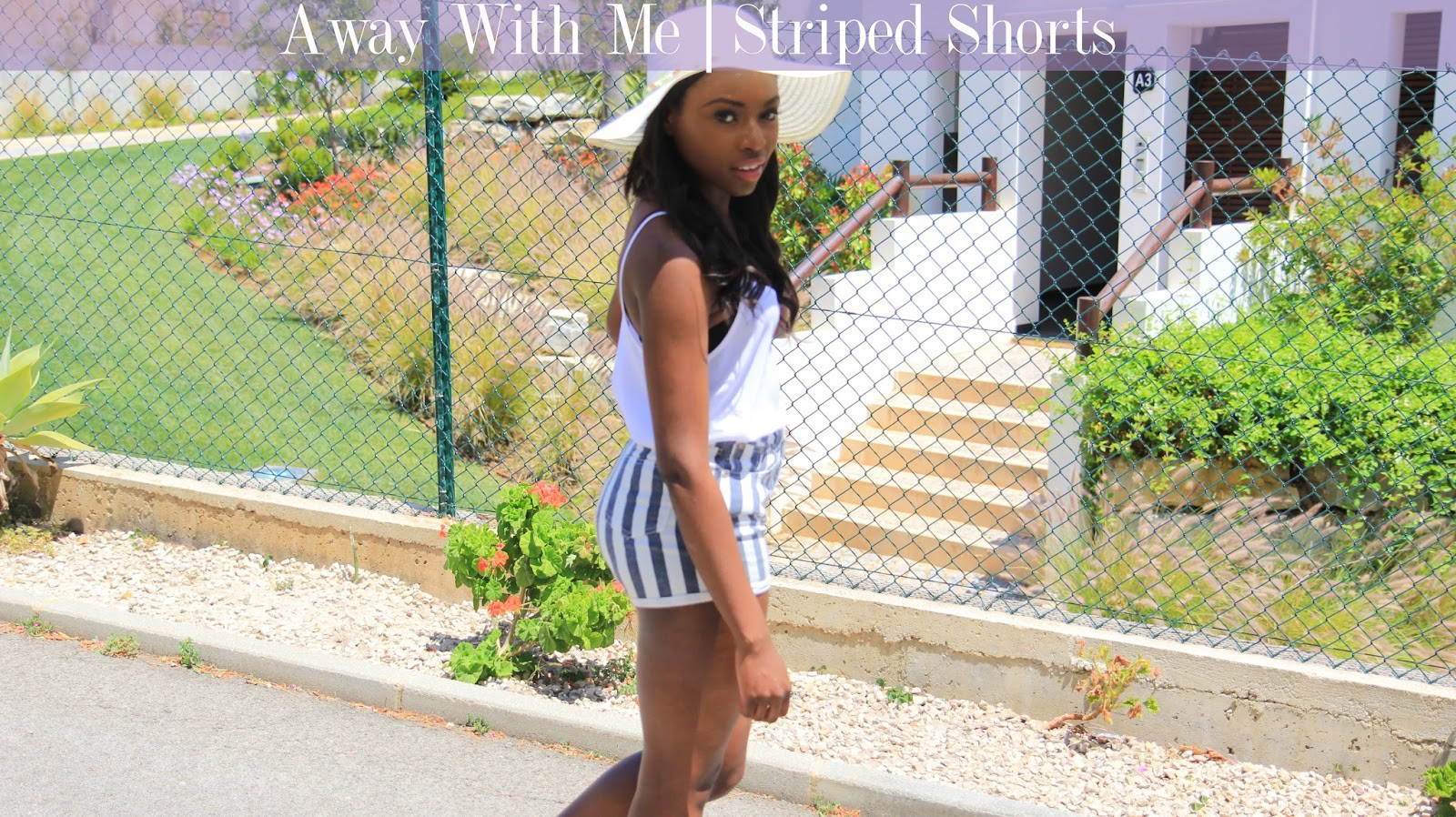 Away With Me| Shorts & Stripes