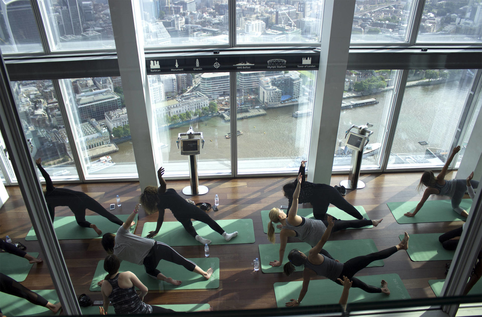 YOGA, BREAKFAST & A VIEW WITH FARFETCH